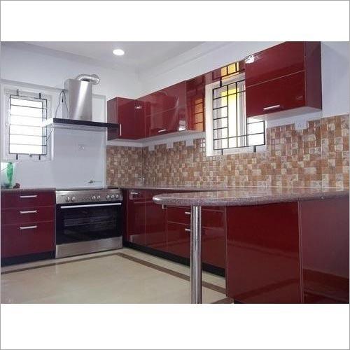 3D Design Modular Kitchen Service