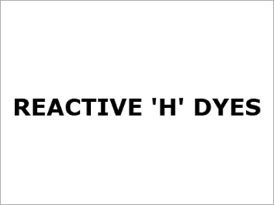 Reactive 'H' DYES