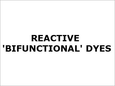 Reactive Bifunctional Dyes