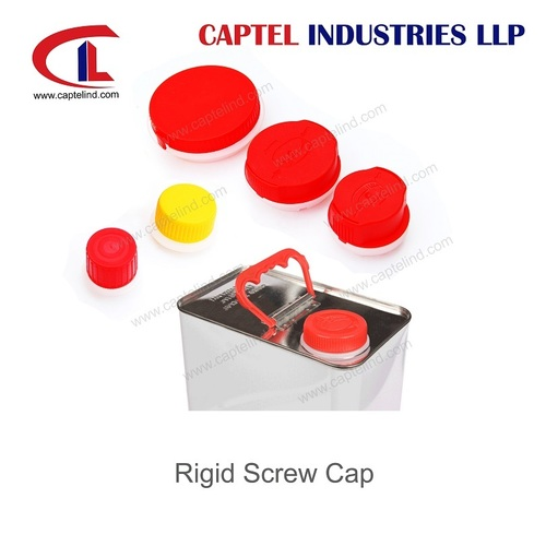 Plastic Closures for Tin Cans with Screw Cap