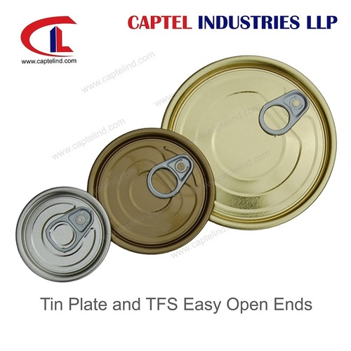 Round Tin Plate Easy Open Ends