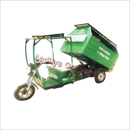 Aaditiya Garbage E-Rickshaw
