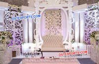 Wedding Paisley Props Grand Panel Stage