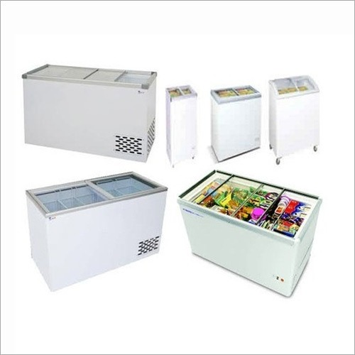 Horizontal and Glass Door Freezer