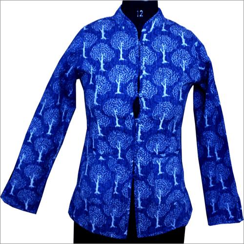 Indigo Print Jacket