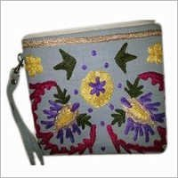 Suzani Embroidered Laptop Bag