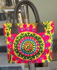 Suzani Embroidered Fashion Bag