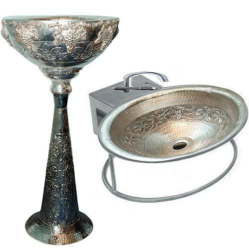 Silver Wash Basins