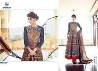 Buy multicolour anarkali suit