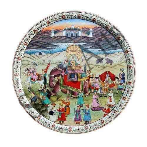 Royal Rajasthan Marble Plate