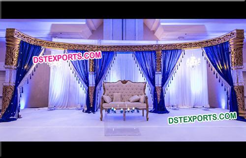 Bollywood Style Wedding Crystal Stage