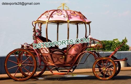 Wedding Mini Cinderella Carriage Buggy