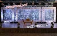 Latest Wedding Stage Photo Frames Backdrop Panels