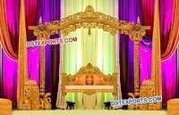 Mehndi Stage With Swing Jhoola
