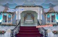 Radha Krishan Wedding Fiber Mandap