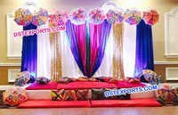 Wedding Mehandi Stage Decoration Props
