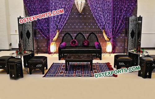 Beautiful Muslim Wedding Antique Furniture