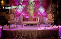 Asian Muslim Wedding Stage Furniture