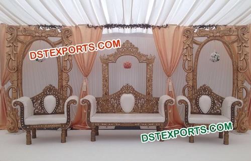 Indian Wedding Frames For Stage Decoration