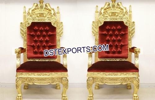 Indian Wedding Bridal Maharaja Chairs