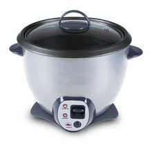 Drum Shape Rice Cooker ( Tempered Glass lid )