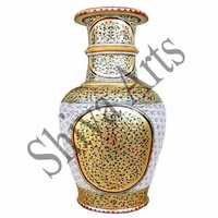 Gold  Marble Pot