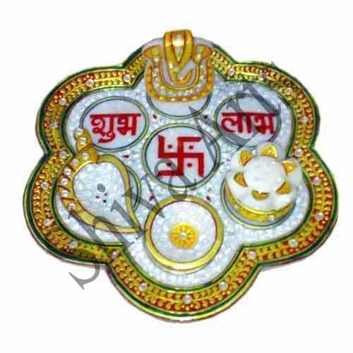 Meenakari Pooja Thali