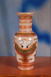Metallic Gold Flower Pot