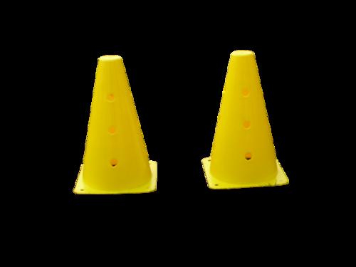 Vinyl Cones with Holes