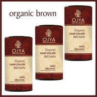 Organic hair Color Brown