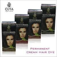 Permanent Cream Hair Dye