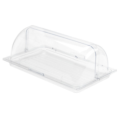 Polycarbonate Display Cover Rolltop rectangle