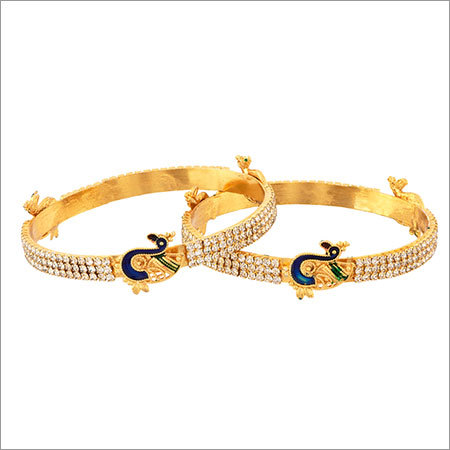 Brass Engraved Bangles