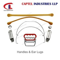 Handles & Ear Lugs for Rectangular and Round Tin Cans