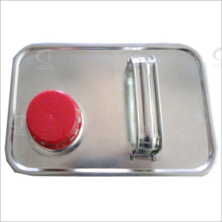 4 Ltr Rectangular Can Top with Plastic Cap