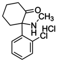 Dehydronorketamine hydrochloride solution