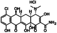 Demeclocycline hydrochloride hydrate
