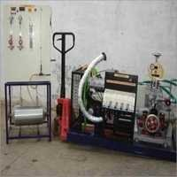 Computerized 3 Cylinder 4 Stroke MPFI Petrol Engine Test Rig