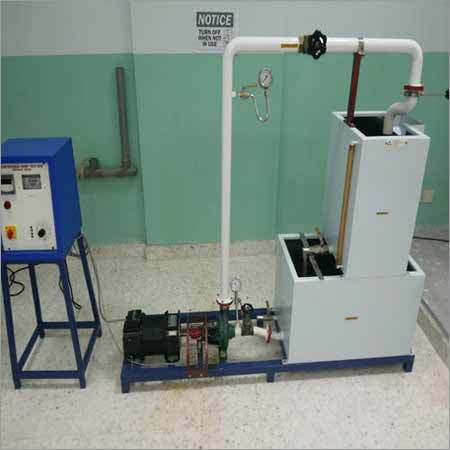 Computer Controlled Centrifugal Pump Test Rig