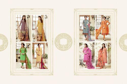 MADHAV INTERNATIONAL (MEHAR) Straight Salwar Kameez Wholesale