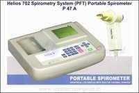 PORTABLE SPIROMETER(Helios 702 spirometry system)