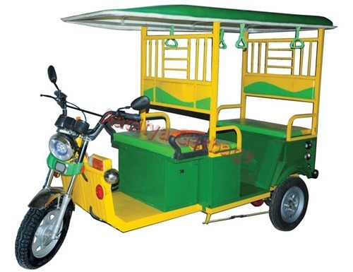 Eco Friendly E- Rickshaw