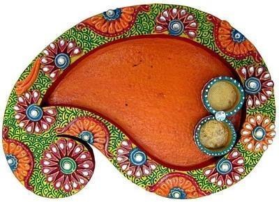Paper Mache Pooja Thali