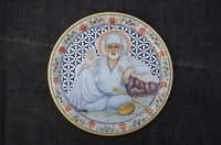 Sai Baba Marble Plate