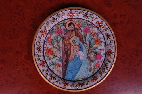 Jesus Marble Plate