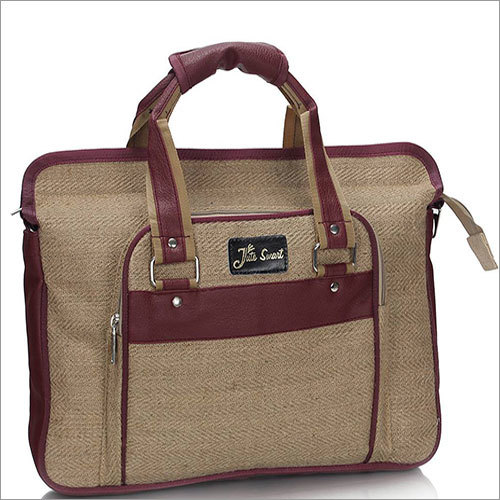 Class Jute Corporate Laptop Bag
