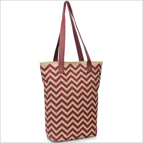 Chevvy Jute Natutal Tote Bag
