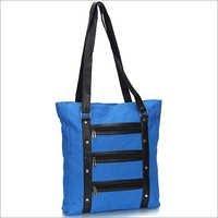 Blue Jute Handbag