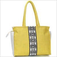 Lemonade Jute Shopping Bag