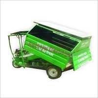 Solar Garbage Rickshaw